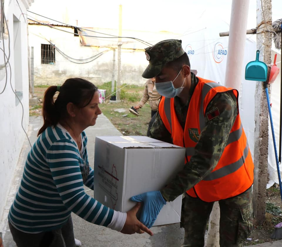 Albania: Humanitarian aid distributed to 228,350 families/individuals