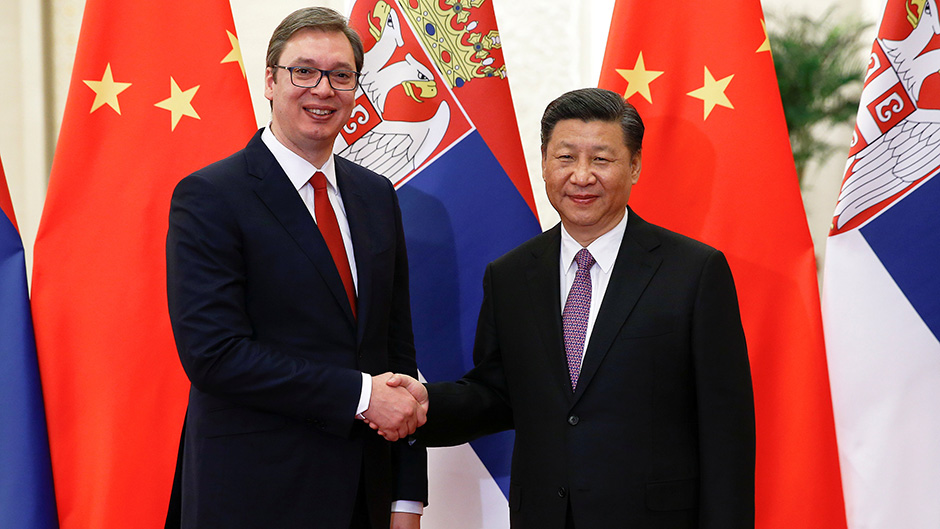 Serbia: Vucic talks to Jinping over phone