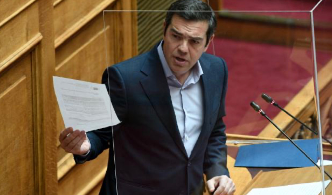 Greece: The refusal to dismiss Vroutsis is proof of complicity, says Tsipras