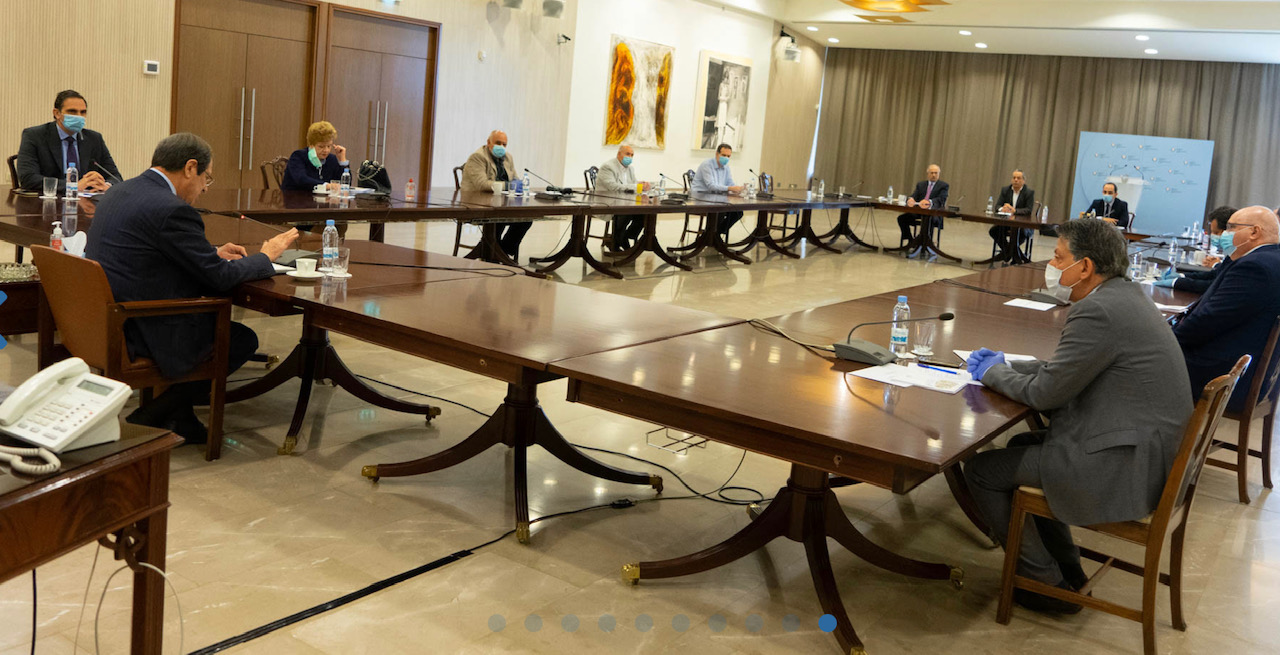 Cyprus: Anastasiades meets with representatives from the Health Sector