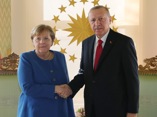 Turkey: Erdogan and Merkel discuss COVID-19