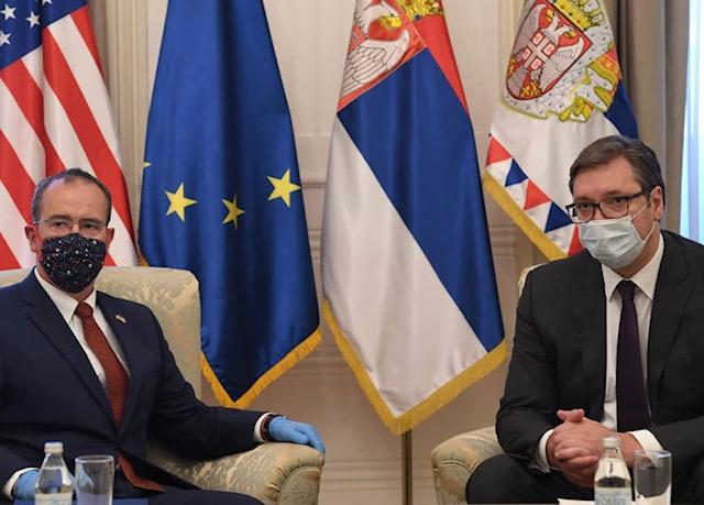 Serbia: Vucic meets US Ambassador