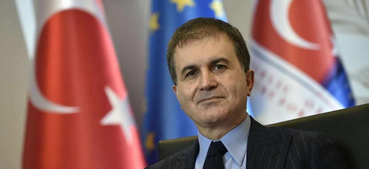"""Omer Çelik: """"The Greek Foreign Ministry has been caught up in its hostility towards Turkey"""""""