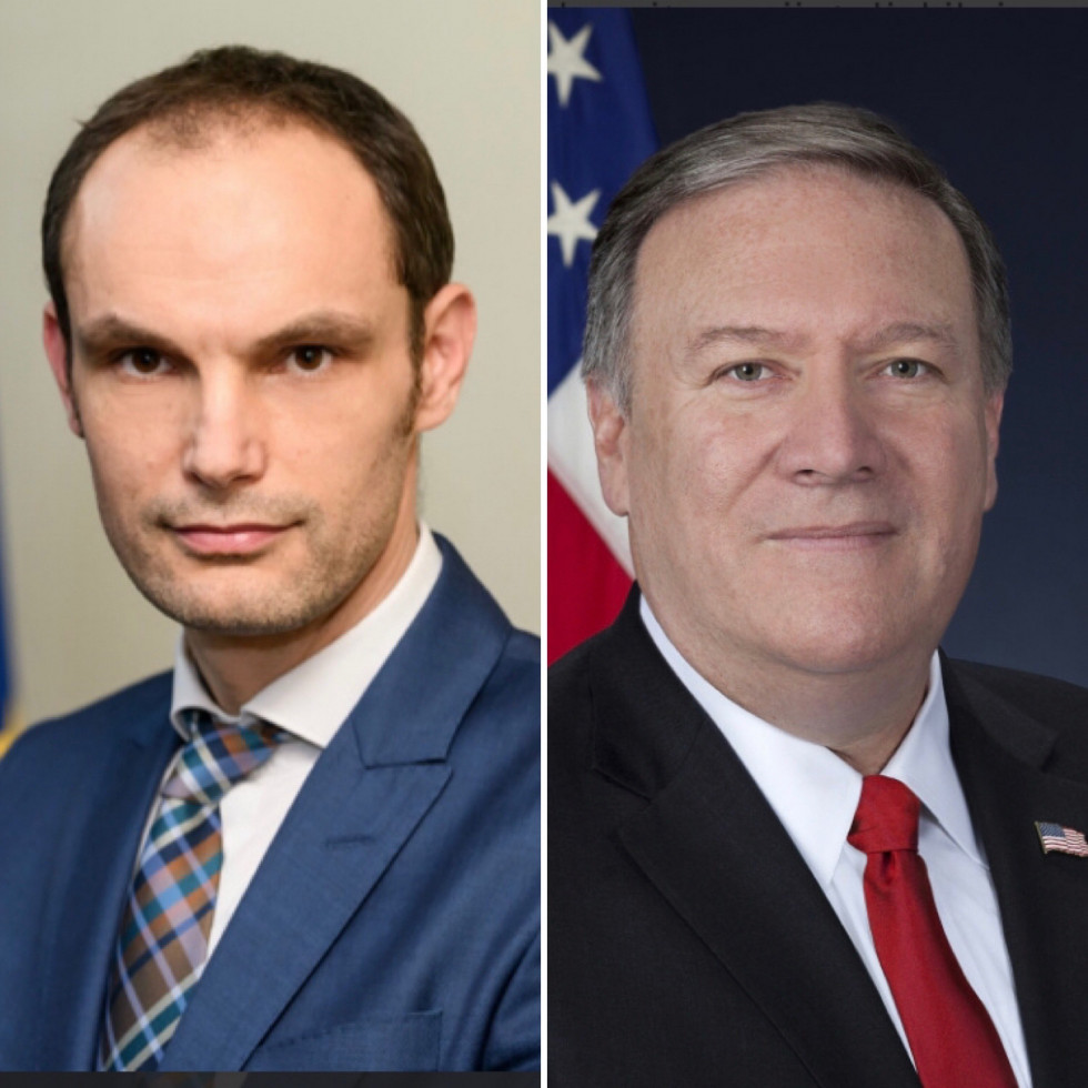 Slovenia: Logar spoke with Pompeo on the phone