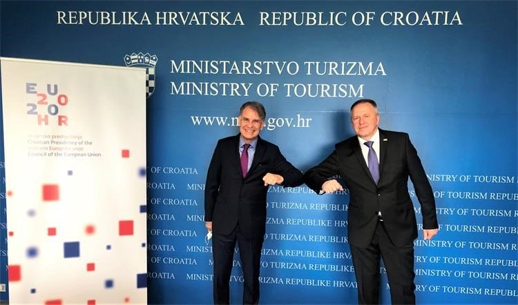 Capelli and Počivalšek discussed tourism cooperation in COVID-19 circumstances