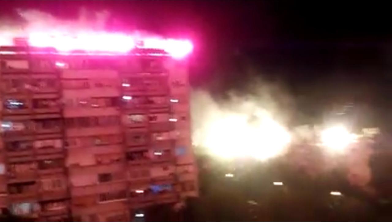 Belgrade: Balcony war lasts half an hour