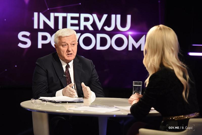 Montenegro: PM satisfied with citizens' responsible behaviour