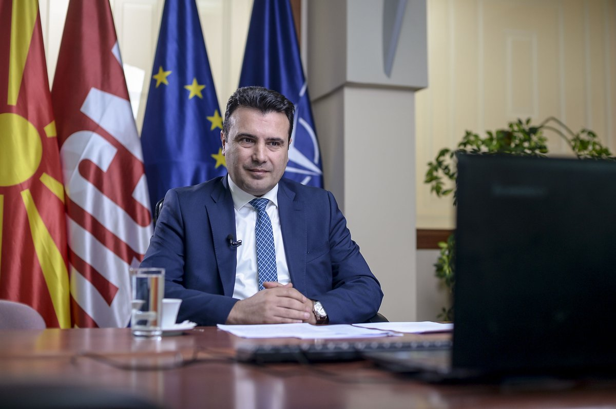 "Zaev: ""The EU is the biggest partner of North Macedonia and the Western Balkans"""