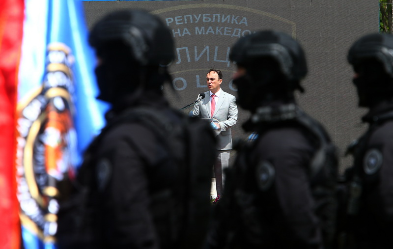 North Macedonia celebrates National Police Day