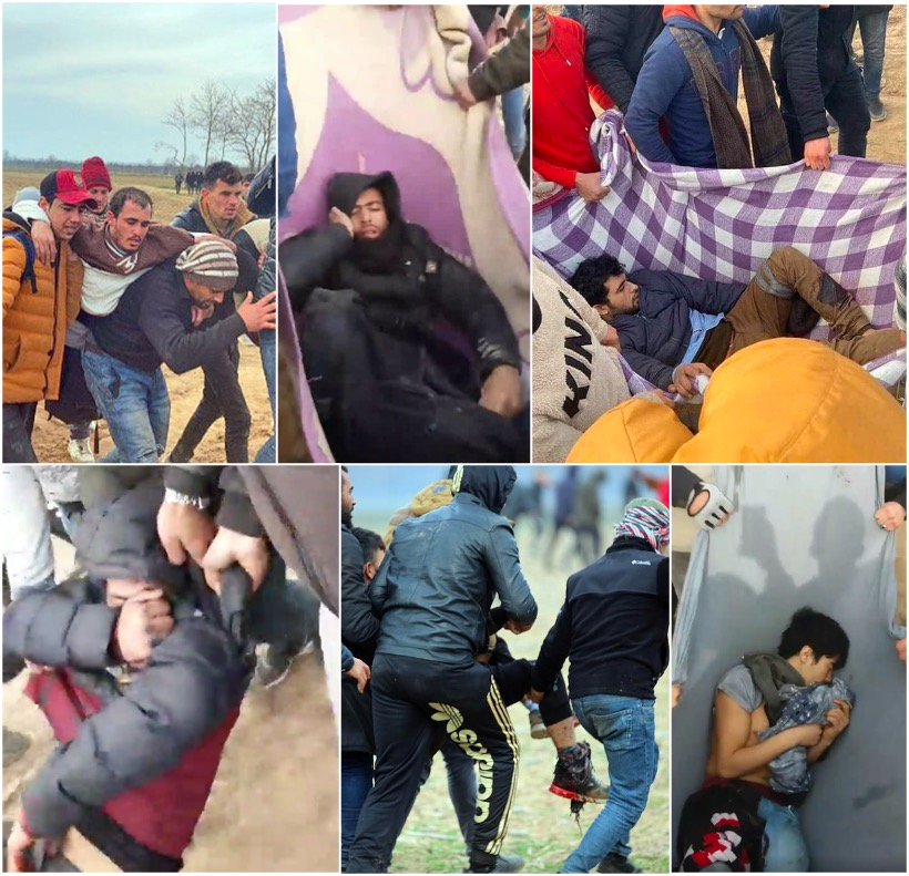 "Greek-Turkish border unrest – ""Greek border police shot sharply at migrants"""