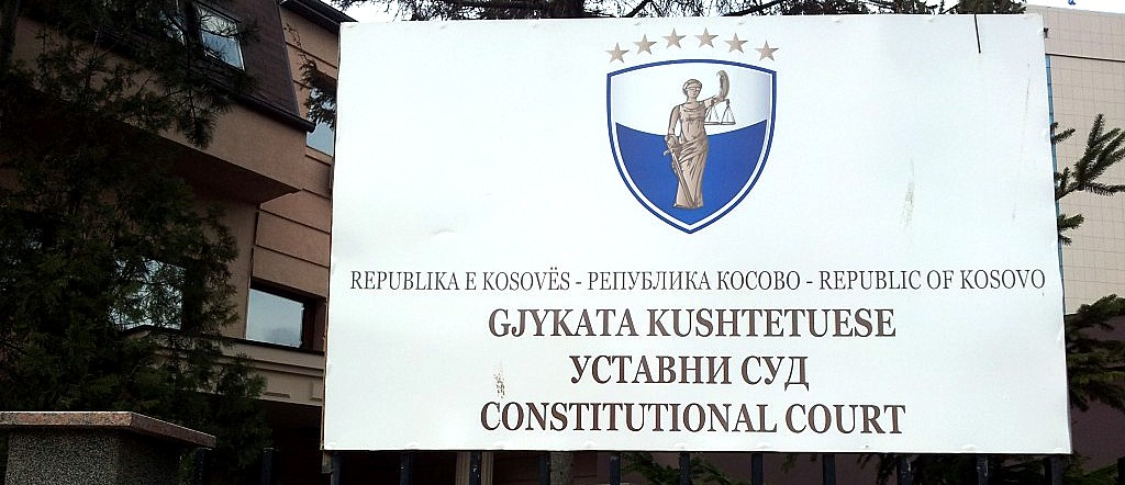 Kosovo: Constitutional Court denounces interference in its work by the President and the Prime Minister