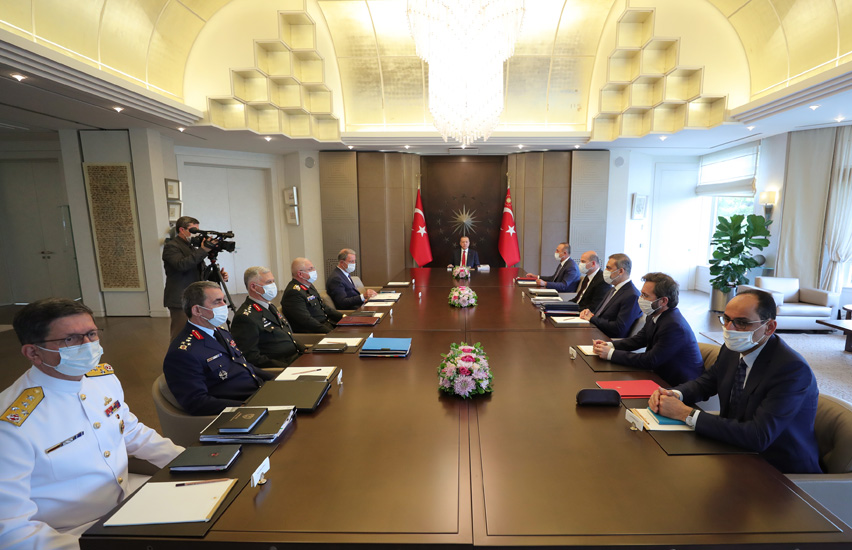 Turkey: Erdogan chairs Extraordinary Security Meeting in Istanbul
