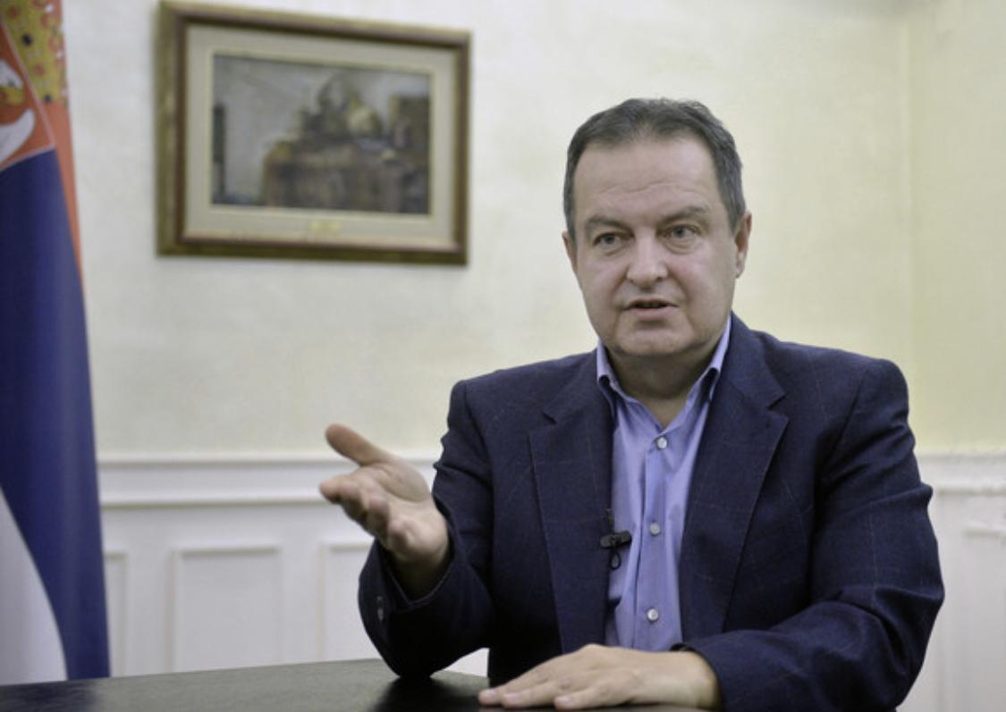 Serbia: Dacic speaks with new Slovak Ambassador to Belgrade
