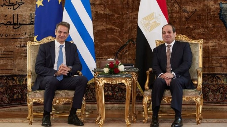 Greece: Mitsotakis and el-Sisi speak on the phone