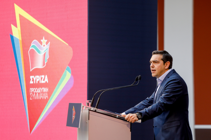 "Greece: Tsipras presents SYRIZA's updated program for the economy ""We Stay Standing II"""