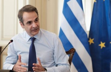 "Mitsotakis says 750 billion euro plan is ""huge step for EU"""