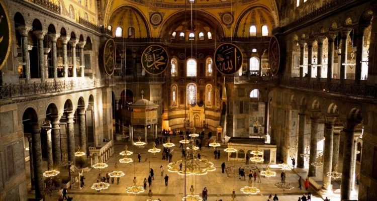 Greek Foreign Ministry: The reading of the Qur'an inside Hagia Sophia offends the international community