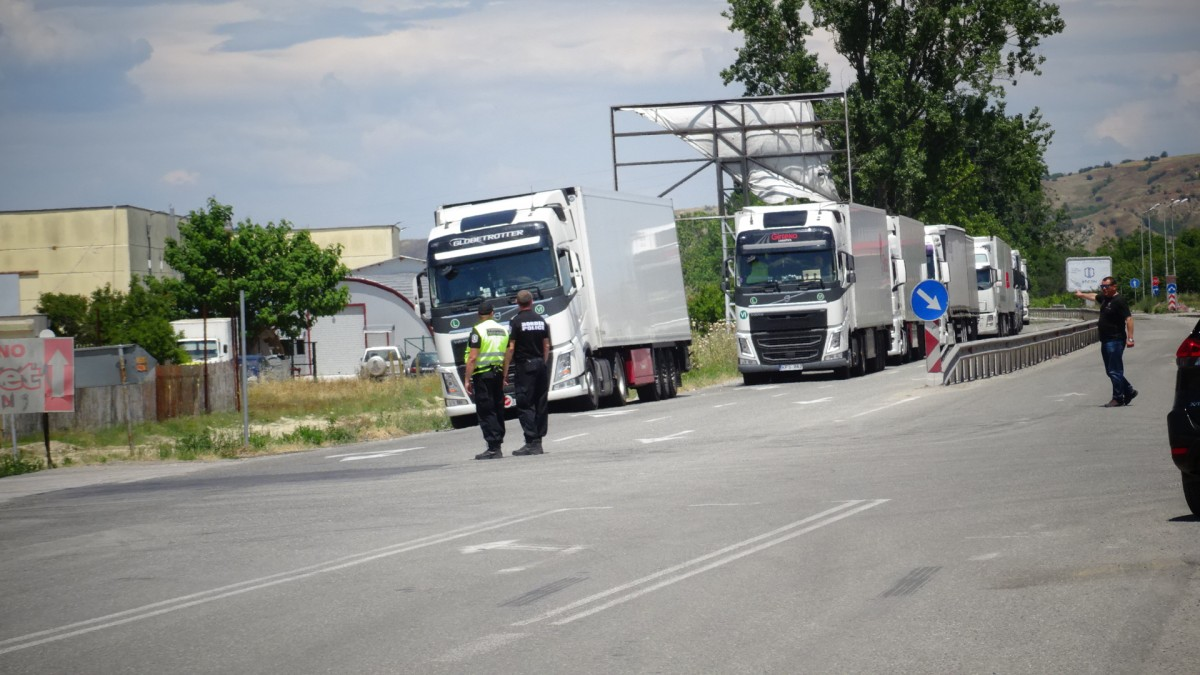 Bulgaria: 7km long queue at the Greek-Bulgarian border due to quarantine imposed by Greece