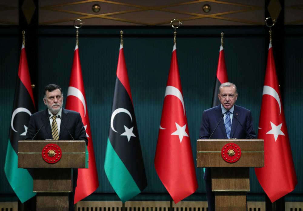 Turkey: Erdogan and Sarraj meet in Ankara