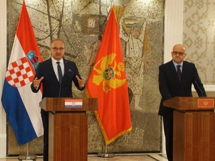 Croatia supports the European path of Montenegro