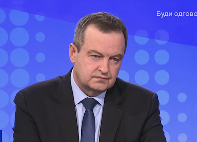 Serbia: There is no threat from Serbia to Montenegro, says Dacic