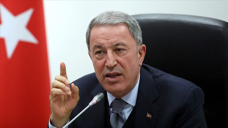 Turkey: Akar speaks of dialogue while sending out warnings