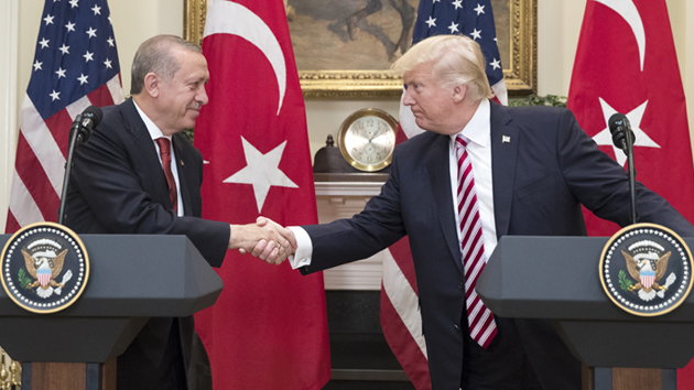 Turkey: Erdogan, Trump speak over the phone