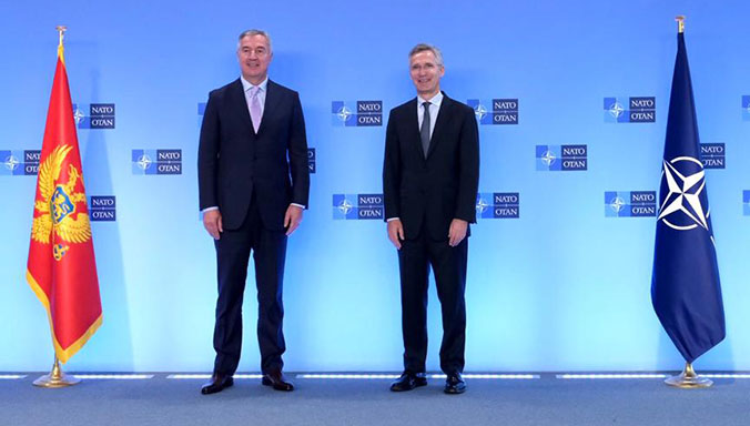 Montenegro: President Đukanović visited NATO HQ in Brussels