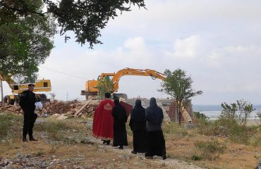 Montenegro: Konak in Saint Basil Monastery in Ulcinj demolished