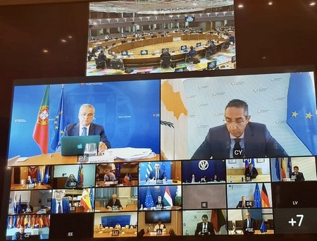 Cyprus: Angelides attends EU Defense Ministers' teleconference