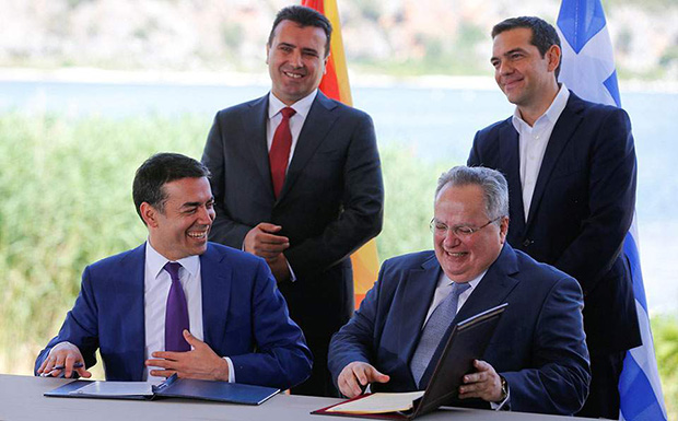 Tsipras, Kotzias, Zaev and Dimitrov post messages in celebration of two-year anniversary of the Prespa Agreement