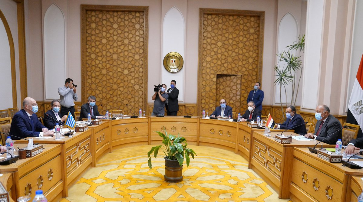 Egyptian Foreign Ministry: Our priorities lie in coordination with Greece and regional issues