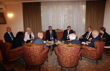 BiH: Republika Srpska delegation meets Russian FM Lavrov in Belgrade