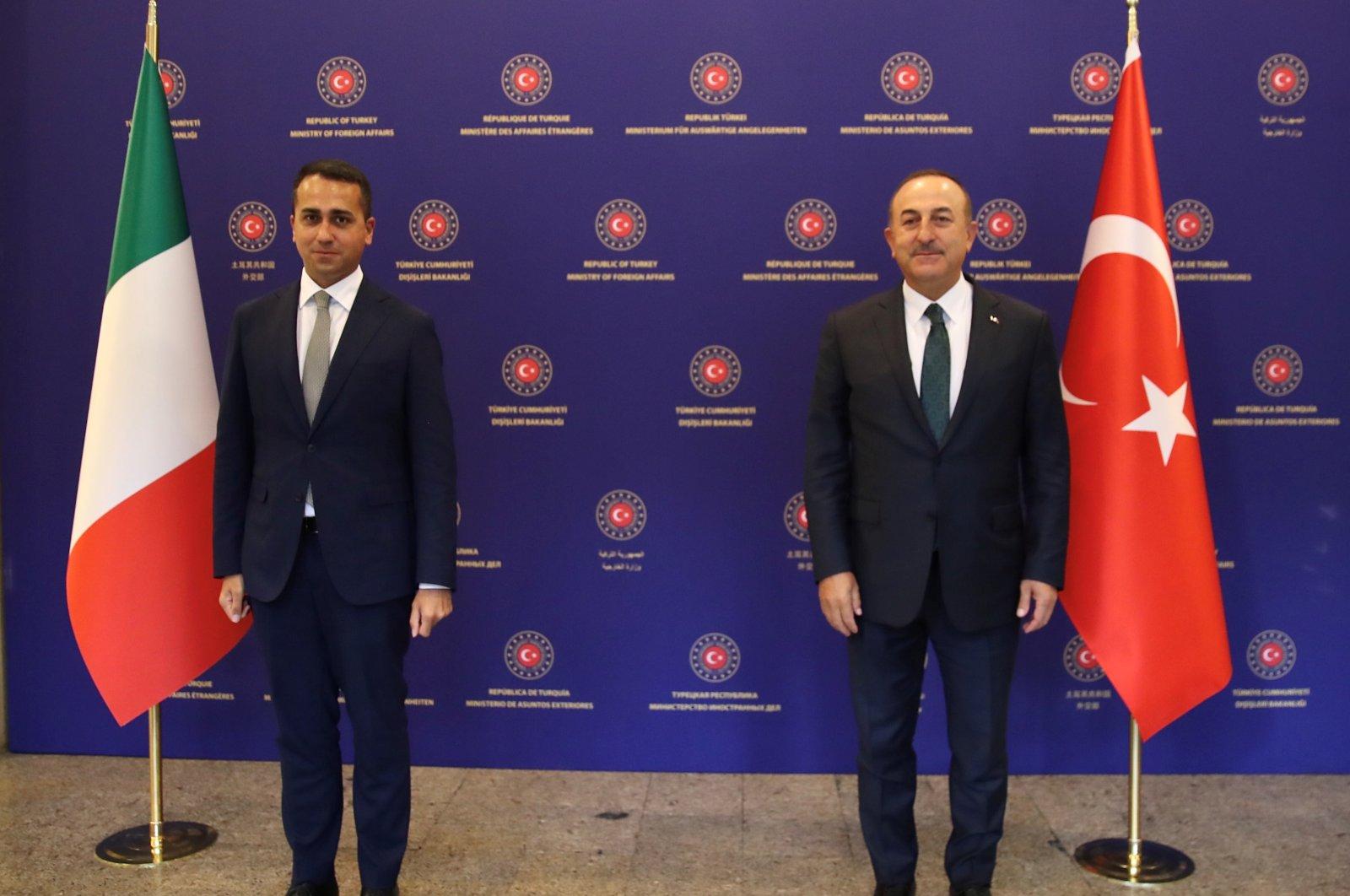 Turkey: Cavusoglu meets with Di Maio