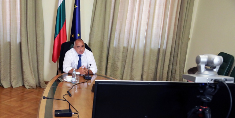Bulgaria: Borissov attends virtual European Council Summit