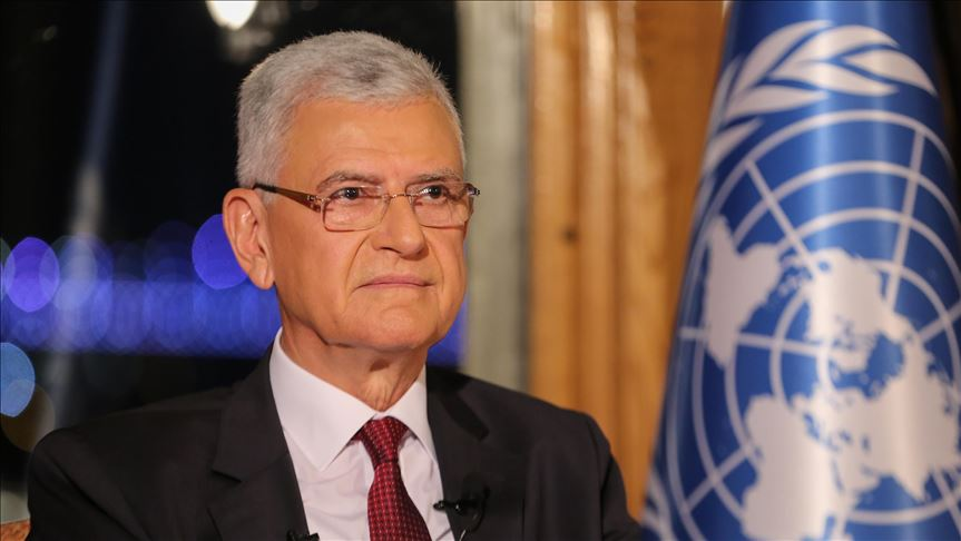 Turkey: Bozkir has pledged to represent all UN members