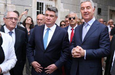 Montenegro: Croatian President Milanović pays official visit