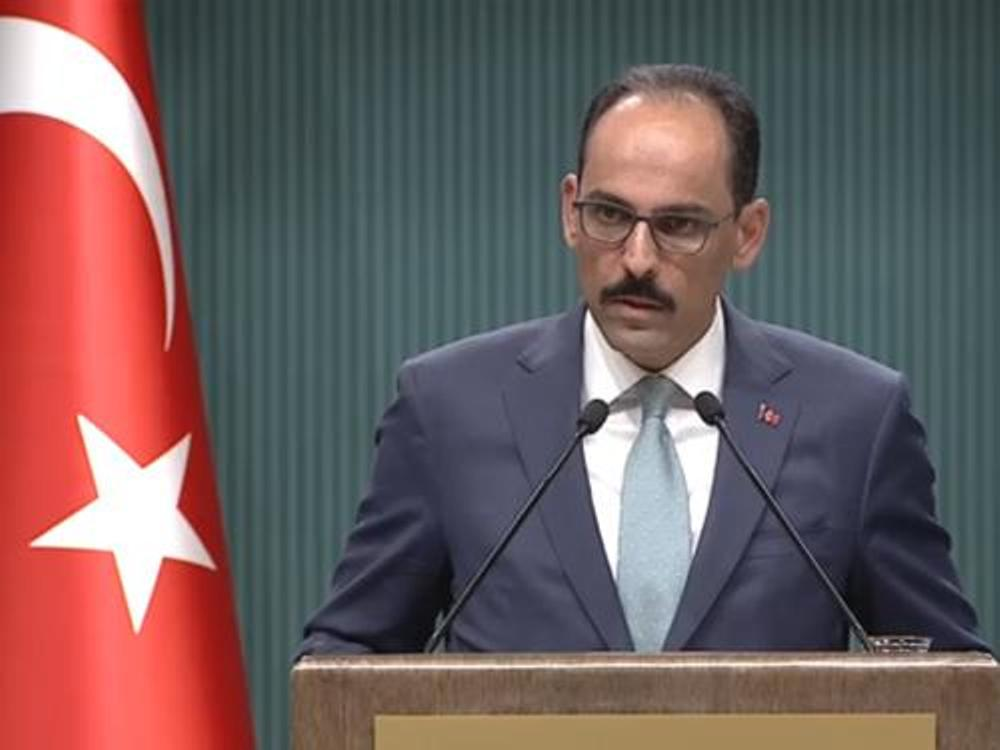 "Erdogan's spokesman: ""We will not back down from the Turkish-Libyan memorandum"""