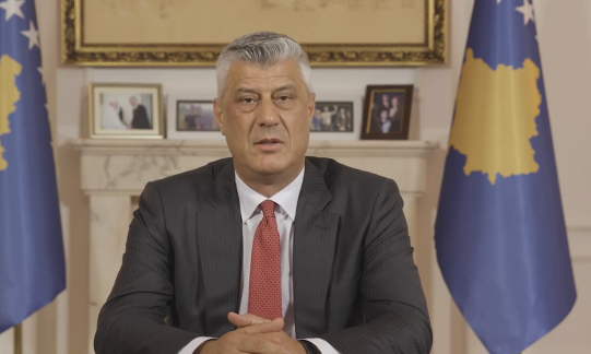"Thaci: ""Once the indictment is confirmed, I will resign"""
