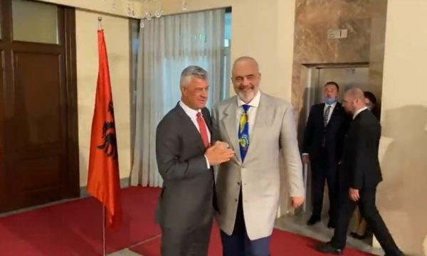 Albania: Rama wraps up day one of his two-day visit to Kosovo