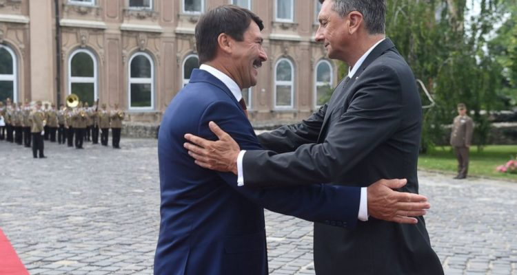 Slovenia: President Pahor on an official visit to Hungary