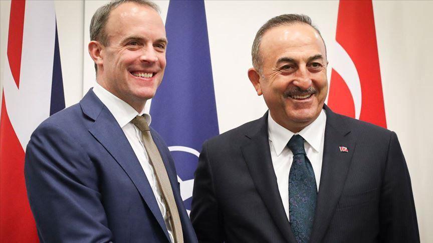Turkey: Cavusoglu on an official visit to London on Wednesday