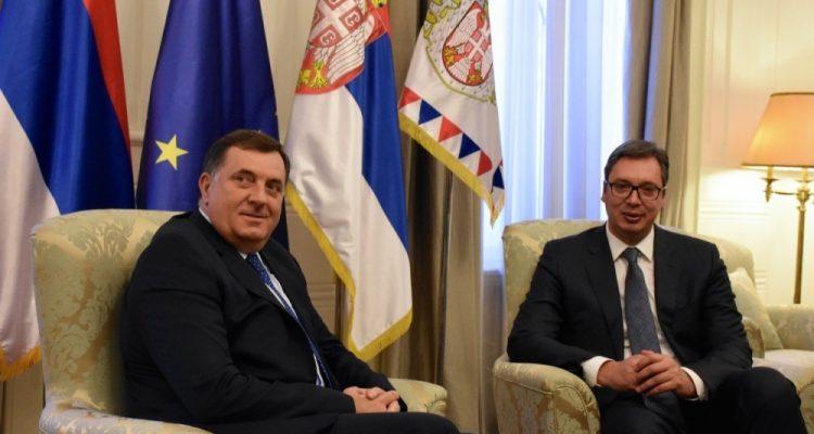 Dodik: Belgrade protests only help Serbia's enemies