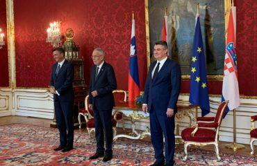 Croatia: President Milanović participates in trilateral meeting in Vienna