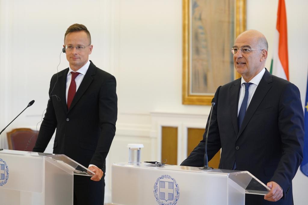 Greece: Dendias meets with Szijjarto