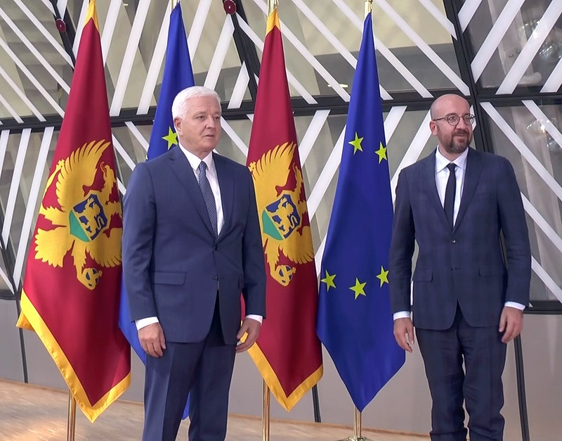 Montenegro: PM Marković completes round of talks with EU officials