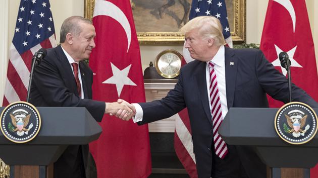 Turkey: Erdogan, Trump speak over the phone