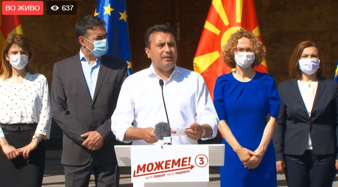 Zaev comments on his election victory for IBNA: We defeated nationalism with the power of the vote, the best democratic way
