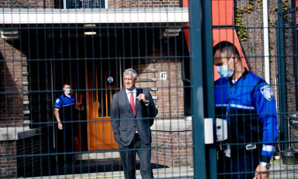 Kosovo: Thaci returns after four-day interrogation at The Hague