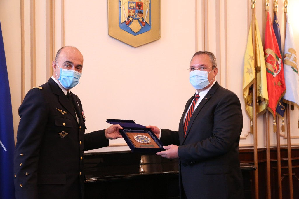 Romania: Defense Minister and Foreign Minister meet with General Lanata